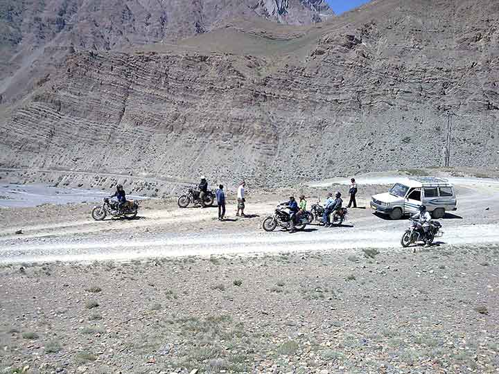 Bikes-Spiti Valley