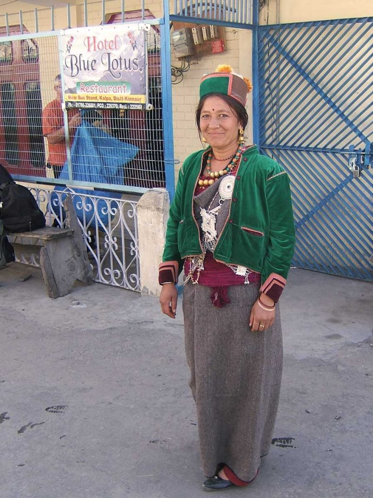 Kinnaur-woman-Blue-Lotus